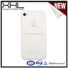 Chinese supplier wholesales for iPhone4 White TPU uv printing cases