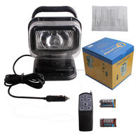 Hot Sales !!!White House 70W 360 DEGREE MAGNETIC HID SPOTLIGHT SEARCHLIGHT BOAT CAR MARINE RV REMOTE CONTROL