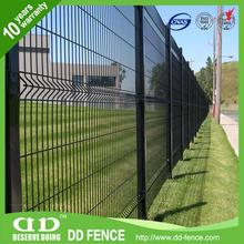 welded steel wire fence panels / wire mesh sheets / iron 3d wire mesh fence