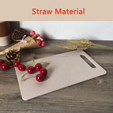 Healthy Cutting Blocks Kitchen Chopping Board Wheat Straw Cutting Board