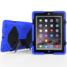 3 in 1 Protective Heavy Duty Armor Case For iPad 2 3 4 Universal Cover