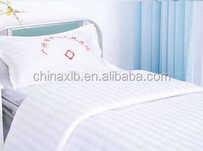 Hospital white bedding for patient Medical and nursing homes bedding cheap