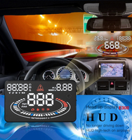 2016 Latest HUD Head up display E300 EUOBD OBD2 Car HUD Head Up Display Over Speed Alarm HUD with 2D vision