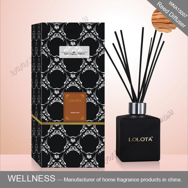 luxury fragrance reed diffuser for home decoration