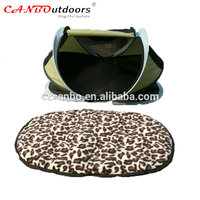 China new products high quality dog tents and beautiful pet bed dog bed