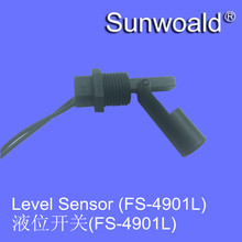 Horizontal PP float type level sensor switch