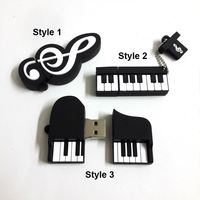Promotion Fashion new Musical Instrument Piano Usb Flash Drive Usb Memory Stick 8GB 16GB Flash Memory Stick Pen Drive Usb Disk