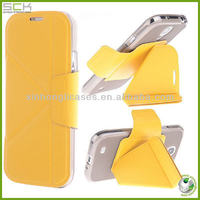 Transformers leather cover case for samsung galaxy s4 with factory price