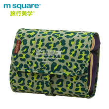 Wholesale fashion detachable large capacity women travel cosmetic bags