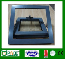 Custom made size aluminum awning window and door with standard AS2047 PNOC122035LS