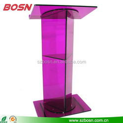 Luxury design with beautiful outlook acrylic lectern wholesale