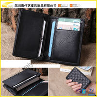 2015 Hot Sale Hand Crafted Best Quality Wholesale Custom Real Leather Business Card Case Name card Holder