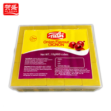 Manufacture wholesale condiments halal chicken bouillon cube with no msg