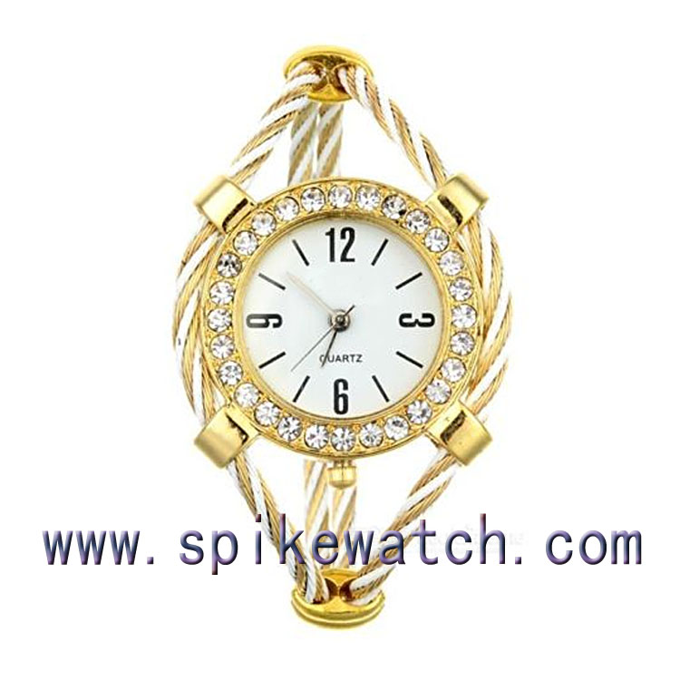 New Charm Wholesale Cheap Quartz Ladies Jewelry Watch for Women
