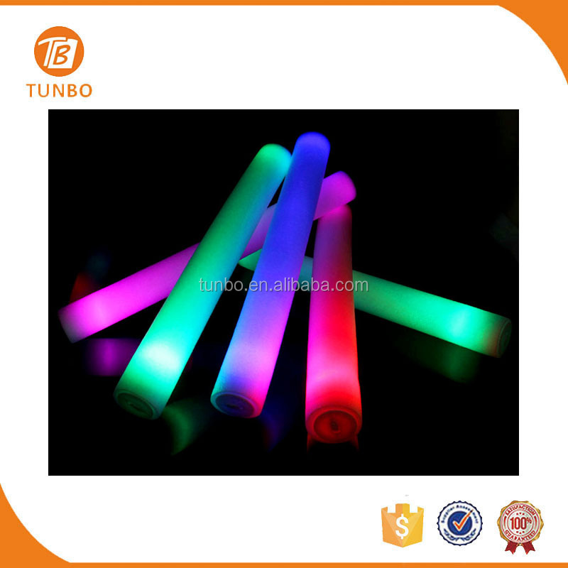 Wholesale Foam Sponge Eco-friendly Light Stick Glow in the Dark Fabric for Concert Supplies
