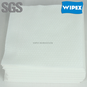 Manufacturer super absorbent spunlaced non woven disposable face towel