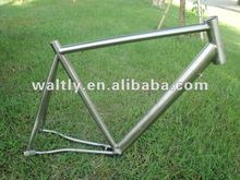 Custom build titanium road bike frame