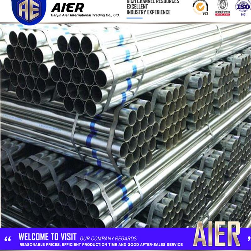 "6"""" galv. tubes welded steel pregalvanized tube manufacturer"