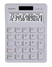 Simple and stylish design HD display plastic 12 digits desktop citizen calculator