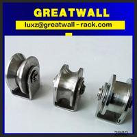 High quality heavy duty singer wooden aluminum sliding window roller bearing and track for moving
