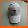 High class promotional golf cap with embroidery logo