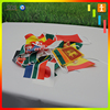 Hot sales fabric square string flag cheap holiday decoration bunting