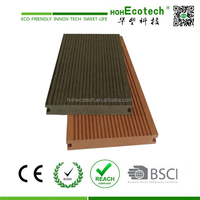 Long life to use wood plastic composite decking flooring outdoor