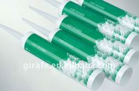Acetoxy silicone sealant cartridge