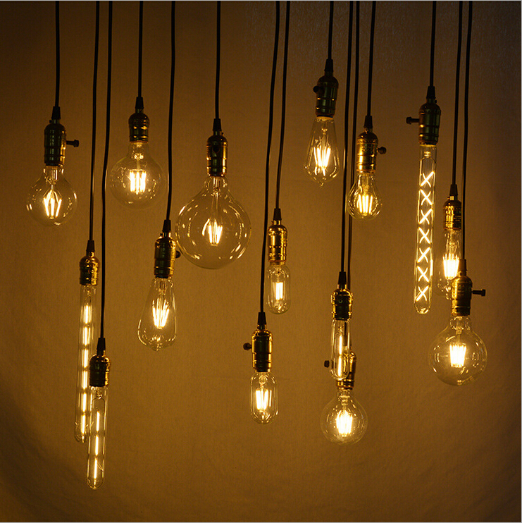 New products decotative lighting E27 Vintage Edison Bulbs