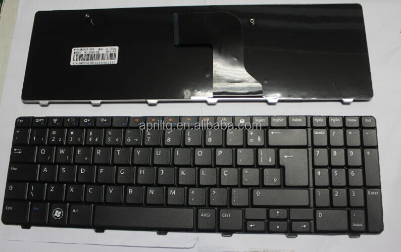 BR Layout Laptop Mini External Keyboards for Dell Inspiron 15R 5010 M5010 N5010 Black