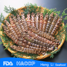 HL002 best quality seafood shrimp vannamei black tiger pud pd