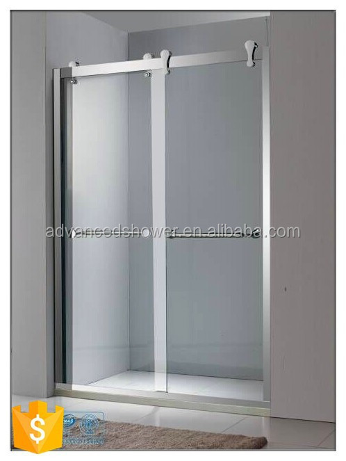 cheap price aluminium profile portable sliding shower screen
