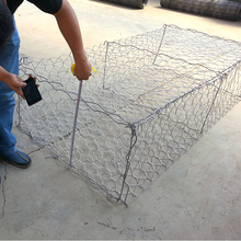 China facrory hot galvanized weld home depot wire mesh gabion fence panels/Gabion box wire mesh panel/galvanized Gabion box wire
