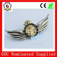 WHOLESALE custom metal pilot wing badge, pin badge, HH603-HH605 (HH-Badge-606)