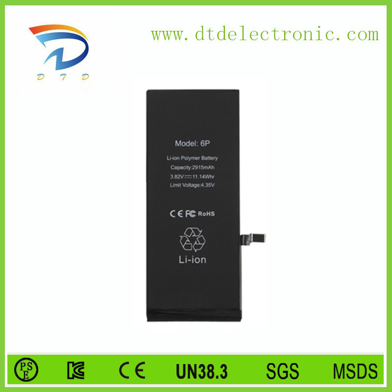 6500 mAh Mobile Phone Battery for iPa 2 Battery Replacement Parts