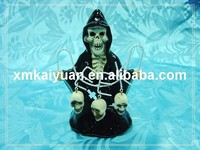 Halloween dolomite ceramic figurine