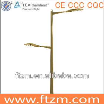 steel folding street lighting pole
