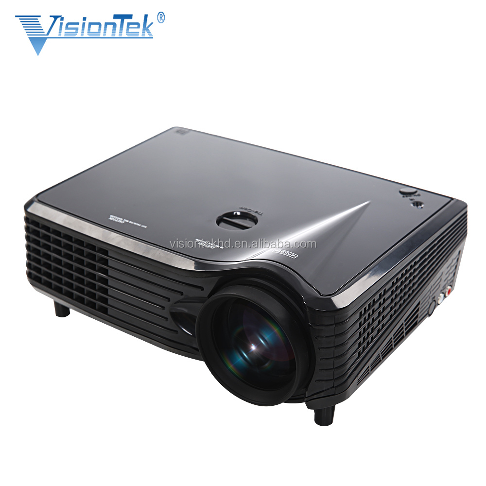 2016 Hot projector 2500 lumens LED projector Visiontek VS-508 with HDMI and full hd projector