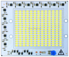 Aluminum PCB Board Driverless 100w High Power AC LED Module 220V
