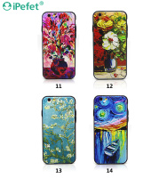 Custom Printing Embossed Design Colorful Soft TPU Cell Phone Case For iPhone 6
