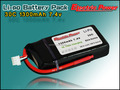 High quality 7.4v 30C 1300mah Lipo Battery for RC model/hobby airplane