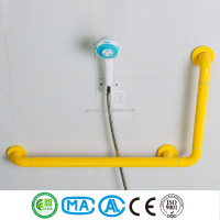 bathroom nylon shower stabilizer bar
