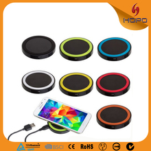 2015 Hot selling Protable Mobile Phone Use wireless charger for Iphone and Samsung