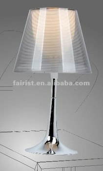 2012 new desk lamp with lamp shade
