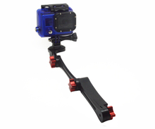 CNC Aluminum Alloy made,Folable Pocket for go pro Stabilizer for go pro3+/3/2/1