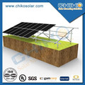 10 MW Solar Power System Ground Solar Brackets with Pile