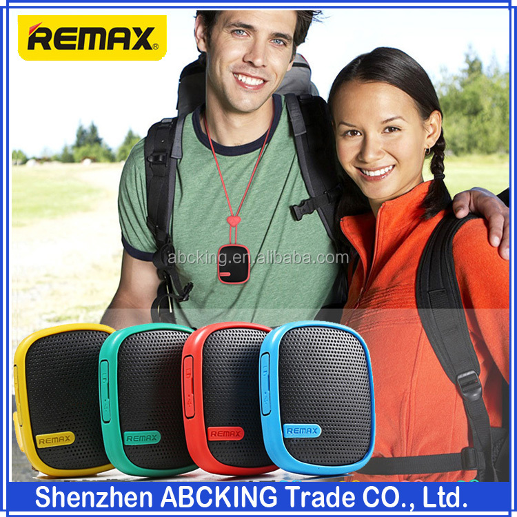 Remax X2mini PortableSports Altavoz Haut Parleur Bluetooth Speakers Waterproof Dustproof Shockproof FM Radio TF AUX Line-in MP3