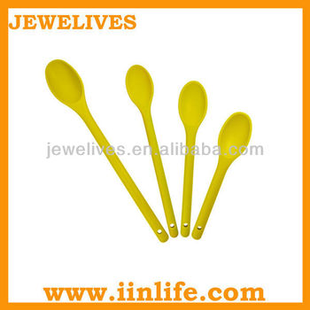silicone spoon with diffrent sizes,silicone kitchen tool set