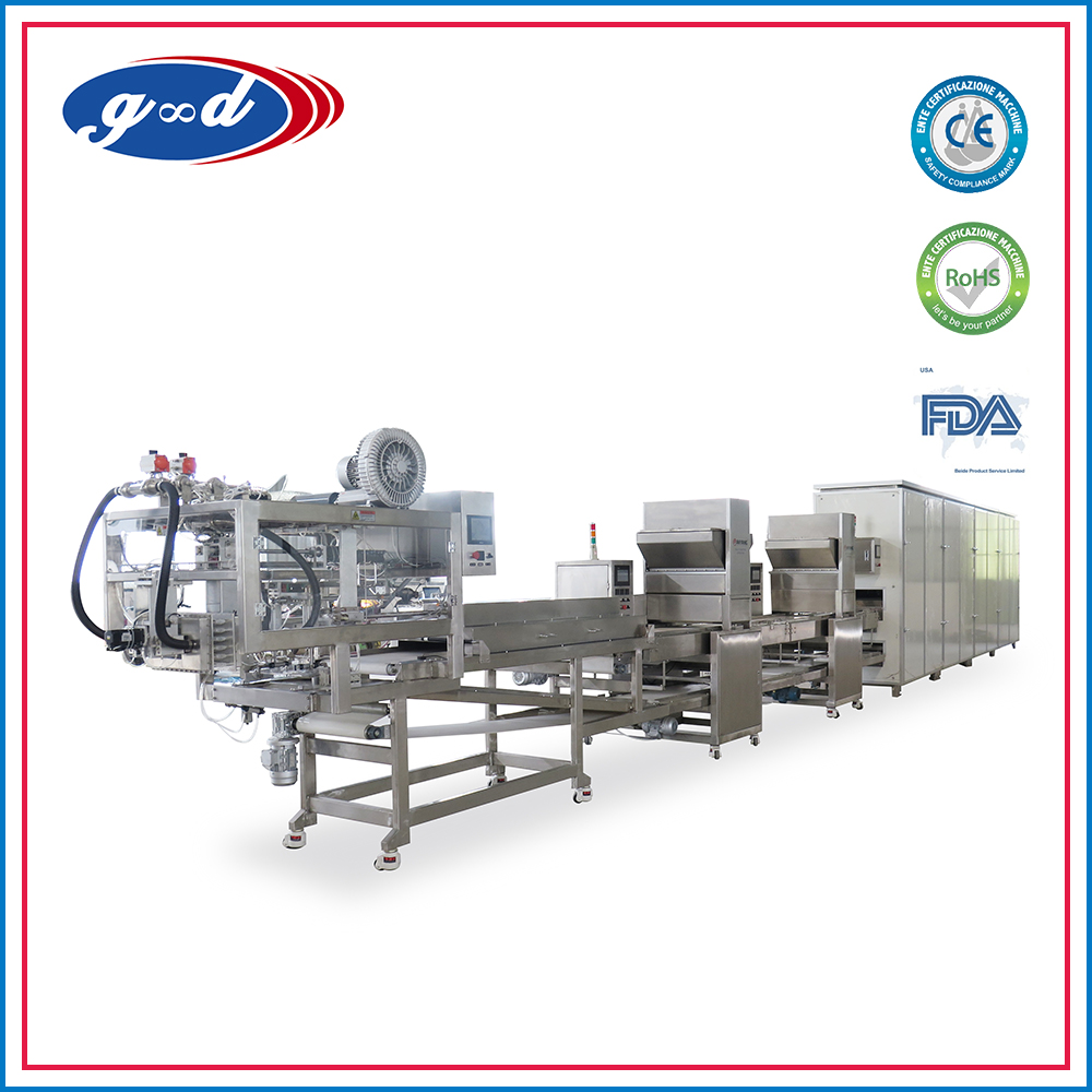 g&d Hot Sale Automatic Half Glaze Chocolate Machinery