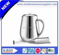 Hot sale new design stainless steel ceramic coffee pot coffee tea pot